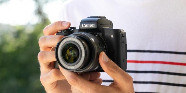 Prise en main du Canon EOS M50